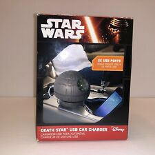 Star Wars Estrella De La Muerte USB Cargador De Coche Sostenedor De Taza