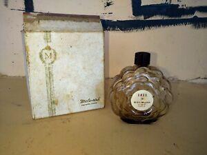 flacon à parfum ancien Molinard 1811 Grasse Paris avec son coffret