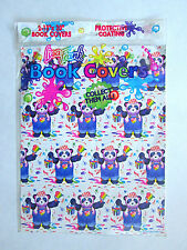 "New 2-Pack NIP vintage 1989 Lisa Frank book covers wild panda koala 13"" x 20"""
