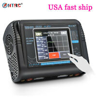 T240 AC 150W DC 240W Touch screen Dual Channel RC lipo battery Balance Charger