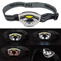 Lamp LED Headlights Hands Flashlight Survival Emergency Camping With Headband
