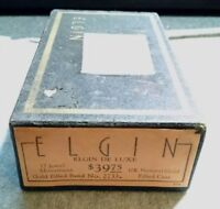 Vintage Elgin DeLuxe Wrist Watch Box only