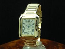 Cartier Tank Anglaise 18kt 750 Gold Unisexuhr inkl. Box & Papiere / Ref W5310003