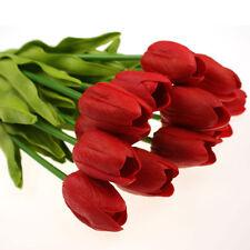 Einzelblume in Rot für Hochzeitsdekorationen