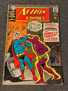 Action Comics 340 - First Parasite (With poster)