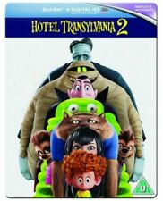 Hotel Transylvania 2 Steelbook Blu-ray 2015 Region