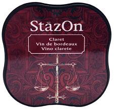 StazOn® Midi Solvent Ink Pad, ClaretNEW FR13