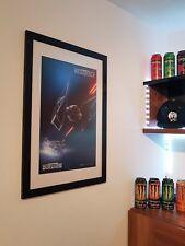 Star Wars Battlefront 2 Poster Gamescom Limited Artwork in Rahmen + Letzten Jedi