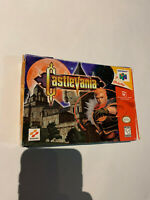 CASTLEVANIA AKUMAJO DRACULA BOX N64 NINTENDO 64 GAME LOT SET AUTHENTIC US RELEAS