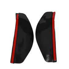2 Universal Regen Windabweiser Scheibenwischer Kfz Spiegel Schatten Rückseite