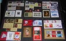Russia 1971-79 MNH/mint S/S sets hi vals 26 diff stamps cv $72