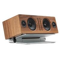 SoundXtra Tilting Universal Table Desktop Speaker Stand for SoundBar Wide Silver