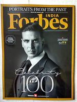 Forbes 6 Jan 2017 Shah Rukh Khan Akshay Kumar Virat Kohli Sunny Leone Rajnikanth