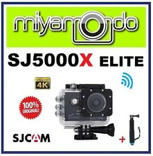 SJCAM Original SJ5000X Elite 4K WiFi Action Camera (Black) + Monopod