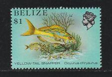 BELIZE 1984 $1.00 Snapper Sg 778 MNH P 13 1/2