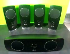 New listing 5 Lg Sh93Sa-S*310W Home Theater speakers with center speaker for Lg Lht854