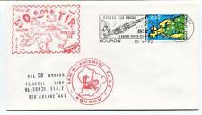 1992 ELA2 Vol. V50 Base Lancement Kourou Guyane Ville Spatiale  Inmarsat 2F4 Tir