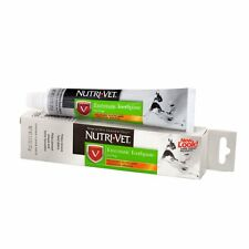 Nutri-Vet Toothpaste For Dogs Oral Dental Care Tarter Plaque Enzymatic 2.5 oz