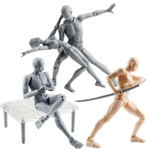 AU Moveable Drawing Figures For Artists Action Figure Model Human Mannequin Kit