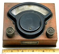 VINTAGE HOYT ELECTRICAL EQUIPMENT WORKS PENACOOK NH DC AMMETER