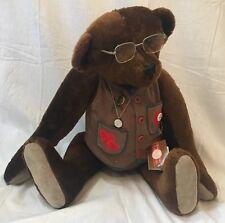 """Teddy Roosevelt """"Star Spangle Banner"""" Bear Beverly Port Gorham Ltd. Ed. 1,000"""