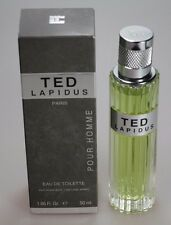Ted Lapidus Pour Homme 50 ml Eau de Toilette EdT Spray NEU / OVP