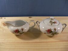 MOSS ROSE by Japan Creamer & Covered Sugar Bowl Set