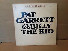 BOB DYLAN  - PAT GARRETT & BILLY THE KID - VINYL LP - SOUNDTRACK - FIRST  EDITIO