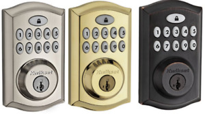 KWIKSET SmartCode 913  914 PARTS - Exterior Keypad - ONLY (W/ KEYS)