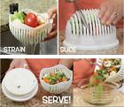 Salad Maker Cutter Bowl 60 Second Salads Made Easy Make Salad Tool Slicer 2018