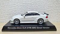 1/64 Kyosho MERCEDES BENZ CLK DTM AMG STREET VERSION WHITE diecast car model