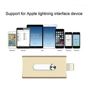 Phone USB Flash Drive with Lightning Connector for Mini, iPod iphone