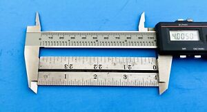 (1)  Machinist rule 4 inch (STARRETT)    (MUST READ LISTING INFORMATION)
