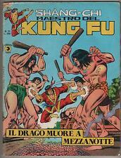 SHANG CHI corno 21 IL DRAGO MUORE A MEZZANOTTE  shang-chi kung fu sons of tiger