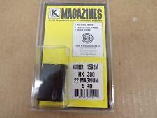 Heckler & Koch Model HK 300 Magazine 22 Mag. 5 RDS by TripleK #1592M