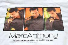 Marc Anthony / TOUR T-SHIRT / Marc Anthony.com - Large 44 - New