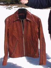 "VINTAGE 1974 ""EAST WEST MUSICAL INSTRUMENTS"" ""MANGO ROAD""  Leather Jacket.."