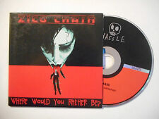 ZICO CHAIN : WHERE WOULD YOU RATHER BE ? ♦ CD SINGLE PORT GRATUIT ♦