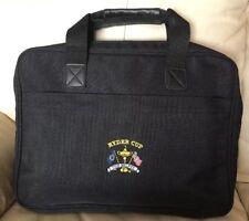 Ryder Cup 2002 Golf The Belfry Briefcase Laptop Ballistic Nylon Zipper Bag