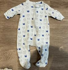 BABY GAP Bear Footed Sleeper Outfit 0-3M