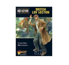 Sección británico LDV Perno acción Warlord Games 28 Mm Sd