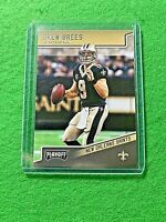 DREW BREES CARD JERSEY #9 NEW ORLEANS SAINTS - 2018 PLAYOFF FOOTBALL SP