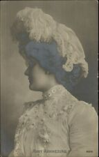 Actress Mary Mannering c1905 Real Photo Postcard
