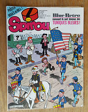 SPIROU N°2223 / DU 20 NOVEMBRE 1980 / AVEC SUPPLEMENT POSTER / B+.