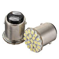 2pcs Dual Contact 1157 BAY15D White 22 LED Car Auto Brake Light Bulb Lamp 12V