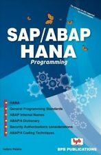 Sap/Abap Hana Programming, Digital Download by Malakar, Sudipta, Brand New, F...