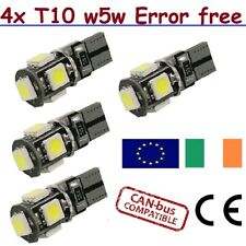 T10 LED Bulb Super Bright Car Lights W5W 501 12V CanBus Error Free SMD 194 168
