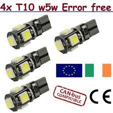 T10 LED Bulb Super Bright Car Lights W5W 501 12V CanBus Error Free SMD 194 168