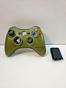 XBOX 360 Halo 3 ODST Wireless Controller TESTED Please Read Description