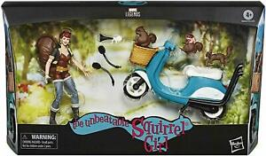 Marvel Legends: 6 Inch Vehicle & Figure - Squirrel Girl With Scooter - New